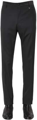 17cm Wool Serge Tuxedo Pants