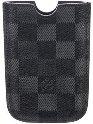 Louis Vuitton Damier Graphite Phone Case grey Damier Graphite Phone Case