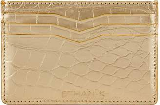 Ethan K Crocodile Card Holder
