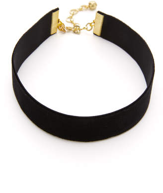 Vanessa Mooney Velvet Choker Necklace $35 thestylecure.com