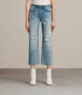AllSaints Mazzy Destroys Jeans