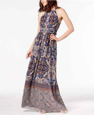 INC International Concepts I.n.c. Printed Maxi Dress, Created for Macy's