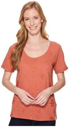Woolrich Eco Rich Bell Canyon Tee Women's T Shirt
