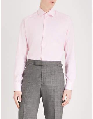 Eton Houndstooth slim-fit cotton shirt