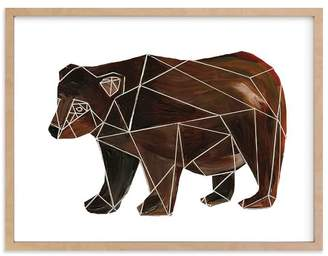 Pottery Barn Teen Bear Body, Wall Art by Minted®, 40 x 54, Natural