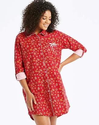at Fashion World · Joe Browns Gingerbread Print Nightshirt 3e43b37b0