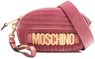 Moschino quilted logo belt bag