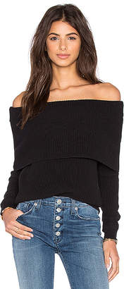 Lovers + Friends x REVOLVE Vylette Sweater in Black $160 thestylecure.com