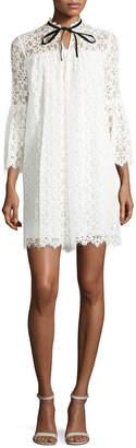 Temperley London Eclipse Lace Mini Dress