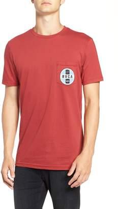 RVCA Indobrok Logo Pocket T-Shirt