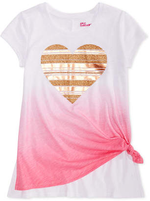 Epic Threads Big Girls Graphic-Print Ombre T-Shirt