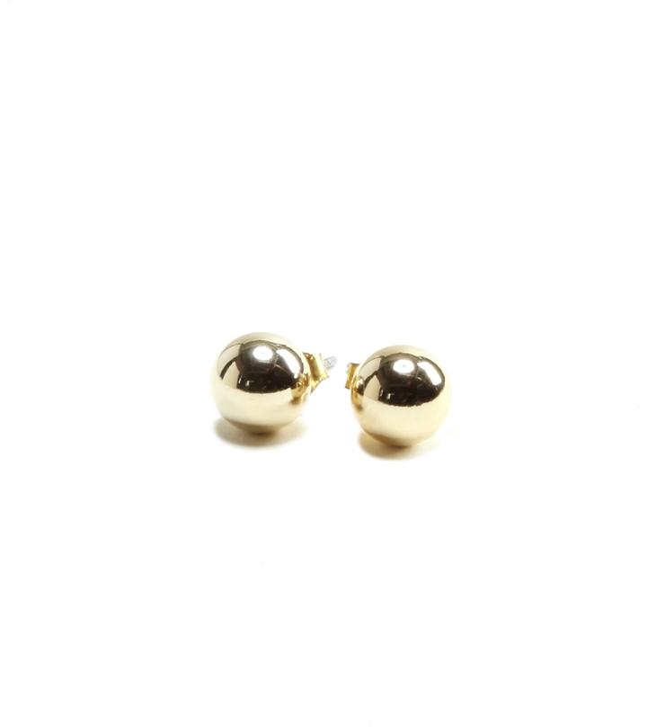 Medium Ball Stud Earrings
