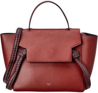 Celine Mini Belt Bag Leather Tote
