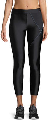 Koral Activewear Knight Cropped Mid-Rise Performance Leggings