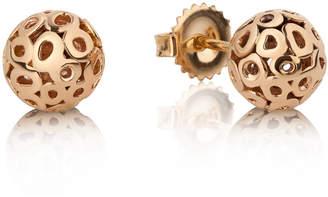 Parker Hi June Jewelry New York Rotunda 14k Gold Stud Earrings