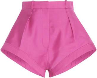Jacquemus Rosa High-Waisted Wool Shorts