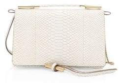Stella McCartney Snakeskin Print Boxed Shoulder Bag