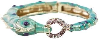 Salvatore Ferragamo Turquoise Metal Bracelets