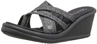 Skechers Cali Women's Rumblers-Young at Heart Wedge Sandal
