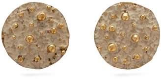 BEIGE Vanda Jacintho - Patina Coin Earrings - Womens