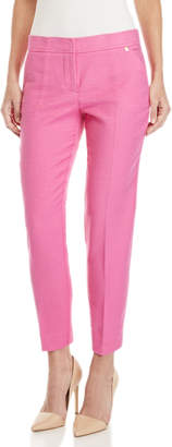 Trina Turk Moss Flat Front Ankle Pants