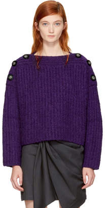 Isabel Marant Purple Free Sweater