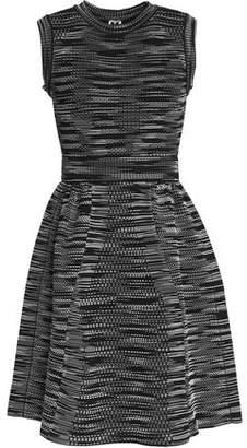 M Missoni Woman Printed Stretch-knit Mini Dress Red Size 42 M Missoni lKhfhhM74r