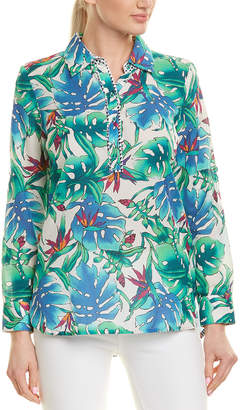 Robert Graham Silk-Blend Top