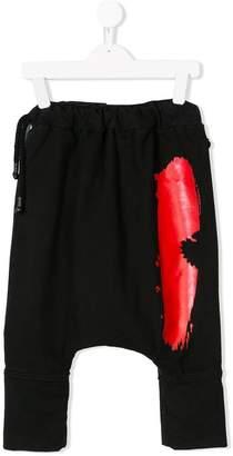 Nostra Santissima Kids drop-crotch track pants