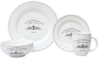 222 Fifth Table Graces 16 Piece Dinnerware Set, Service for 4