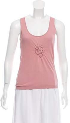 Chanel Sleeveless Knit Top