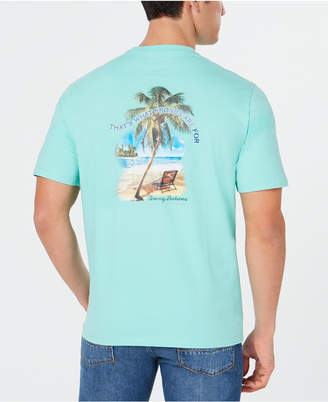 Tommy Bahama Men What Fronds Are For Graphic T-Shirt