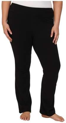 Jockey Active Plus Size Slim Bootleg Women's Casual Pants