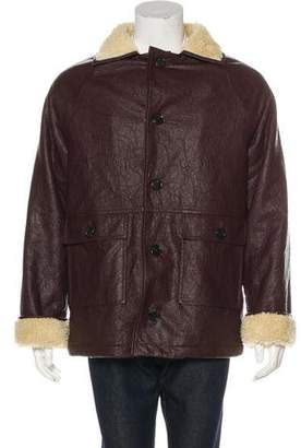 Gosha Rubchinskiy Faux Shearling Jacket w/ Tags