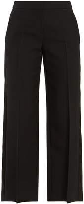 Alexander McQueen High-rise wide-leg trousers
