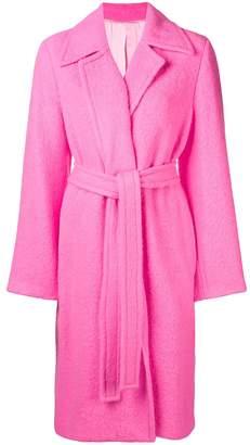 Helmut Lang open front overcoat