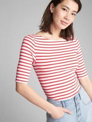 Gap Modern Stripe Ballet-Back T-Shirt