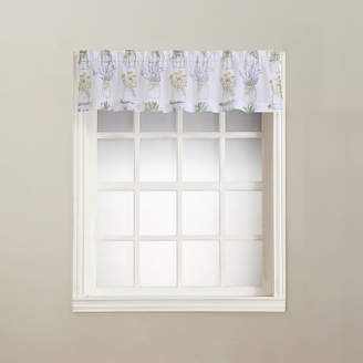 Lichtenberg Eve's Garden Rod-Pocket Sheer Valance