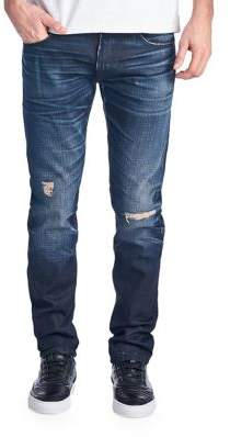 Cult of Individuality Rocker Slim Fit Low-Rise Jeans