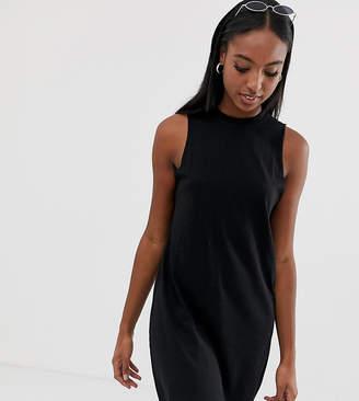 Asos Tall DESIGN Tall slub tank dress