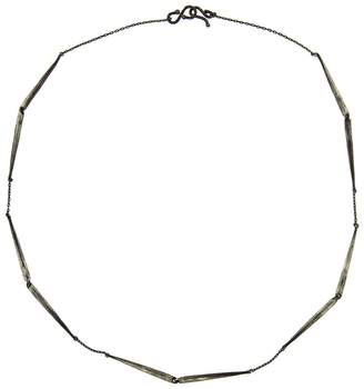 Ten Thousand Things Skinny Taper Link Necklace - Sterling Silver