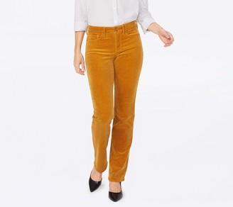 NYDJ Marilyn Straight Leg Corduroy Jeans