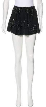 Ann Demeulemeester Virgin Wool Mini Skirt