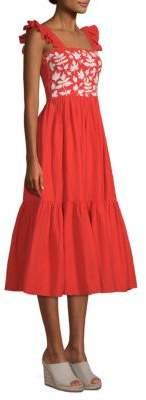 Carolina K. Kuna Embroidered Dress