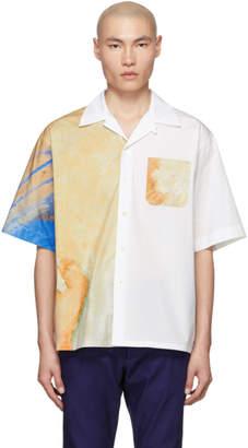 Marni White Poplin The Kiss Shirt