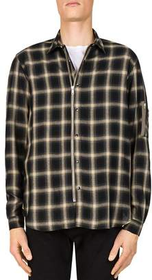 The Kooples Big Check Slim Fit Button-Down Shirt