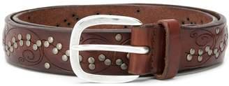 Orciani stud detail belt