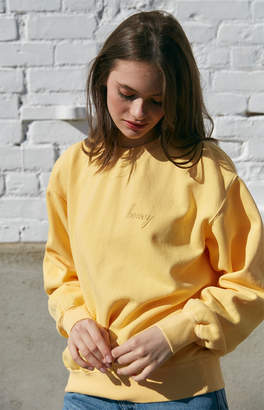 adidas John Galt Honey Crew Neck Pullover Sweatshirt