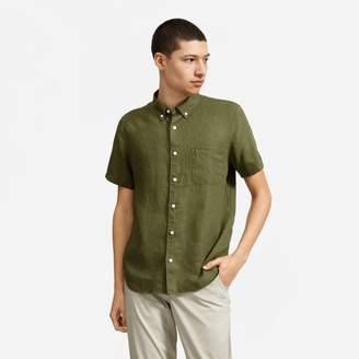 Everlane The Linen Short-Sleeve Standard Fit Shirt