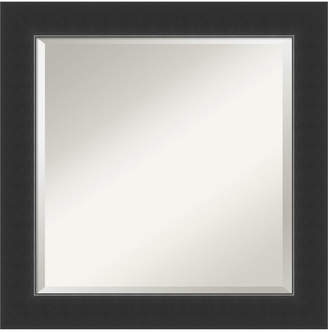 Amanti Art Colonial Embossed 32x26 Wall Mirror